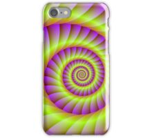 Pink and Yellow Spiral iPhone Case/Skin