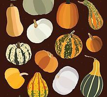 Pumpkins by Dorothy Leigh