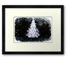 All is calm. Framed Print