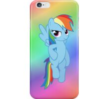Rainbow Dash - Flying iPhone Case/Skin