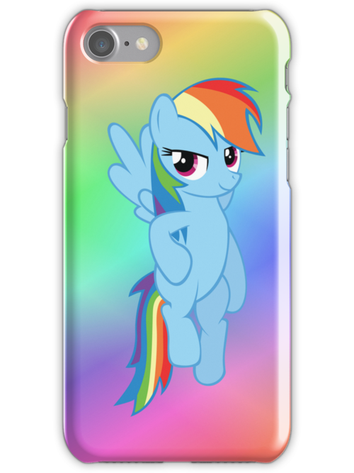 Rainbow Dash - Flying by M. Russell