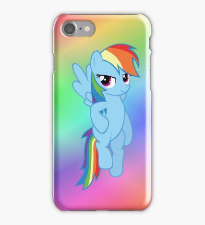 Rainbow Dash - Flying (iPhone) iPhone Case/Skin