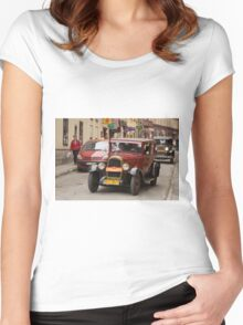 """""""Rally"""" Women's Fitted Scoop T-Shirt"""