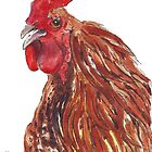 Chickens by Maree Clarkson by Maree  Clarkson