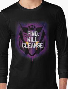DJD - Find. Kill. Cleanse. Long Sleeve T-Shirt