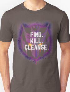 DJD - Find. Kill. Cleanse. Unisex T-Shirt