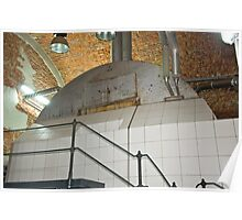 Boiler for brewing beer Poster