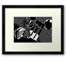 Staccato Framed Print