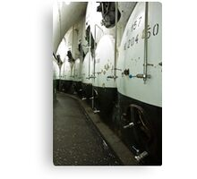 Storage cellar beer Canvas Print