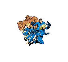 fantastic four Photographic Print