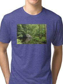 Ridge Valley Creek - Green Lane - Pennsylvania - USA Tri-blend T-Shirt