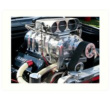 May Engine Art Print