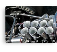 August Engine Canvas Print