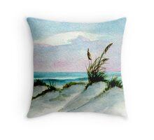 Dunes Seascape Throw Pillow