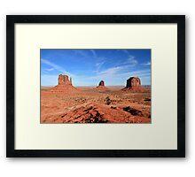Monument Valley. Framed Print