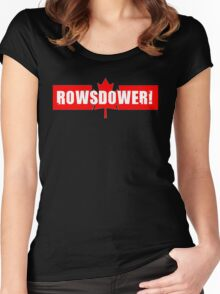 Rowsdower! Women's Fitted Scoop T-Shirt