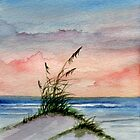 Sunset Seascape by Rosie Brown