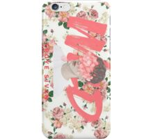 Floral Pink WILD Photo  iPhone Case/Skin