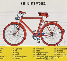 schoolplaat: het juiste woord by Daan de Groote