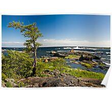 A Windy Archipelago Poster