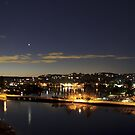 Narrabeen Lake at Night by Doug Cliff
