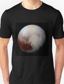 NASA Pluto Color Enhanced Variant 2 T-Shirt