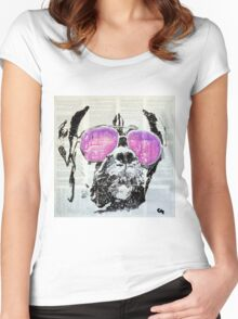 Evening. Women's Fitted Scoop T-Shirt