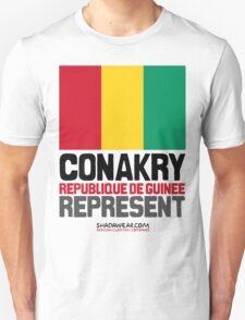 Conakry, Republique de Guinée. Represent T-Shirt