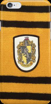 Harry Potter Hufflepuff Badge by NuclearJawa