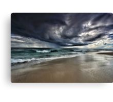 The Angry Sky Canvas Print