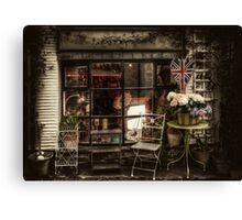 Polperro Shop Canvas Print