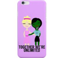 Together We're Unlimited iPhone Case/Skin