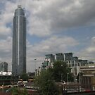 Vauxhall Tower From Clapham Junction by MagsWilliamson