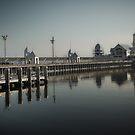 Geelong Waterfront by Margaret Metcalfe