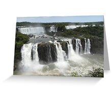 Iguassu Falls, Brazil Greeting Card