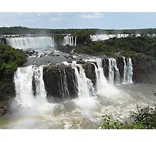 Iguassu Falls, Brazil Photographic Print