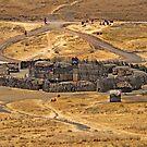 Maasai village by Konstantinos Arvanitopoulos