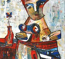 """Lady from nowhere""    by Elin Bogomolnik"
