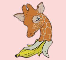 Giraffe banana Kids Tee
