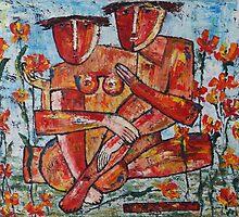 """Adam and Eve"" by Elin Bogomolnik"