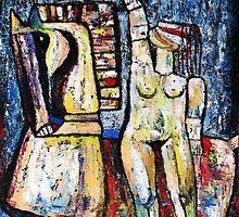 """The Maid of Orleans""  by Elin Bogomolnik"