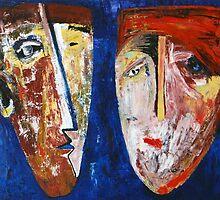 """Family portrait in blue""   by Elin Bogomolnik"