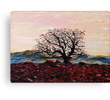 """Tree in the desert""   Canvas Print"
