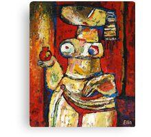 """""""Oriental dancer"""" Canvas Print"""