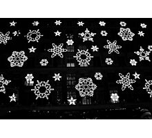 Flakes on 5th Avenue Photographic Print
