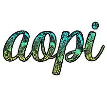 AOPI Doodle Photographic Print