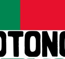 Cotonou, Benin. Represent Sticker