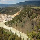 Grand Canyon of Yellowstone River by Jodie Keefe