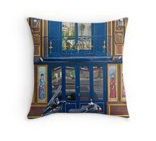 Paris Shop front Throw Pillow
