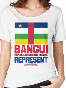 Bangui, Centrafrique. Represent Women's Relaxed Fit T-Shirt